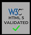 Valid W3C HTML 5